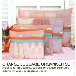 Hospital Bag organisers - Orange
