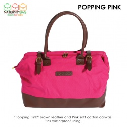 Popping Pink Hospital bag