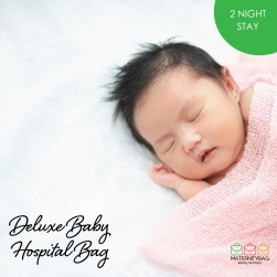 Deluxe Baby Hospital Bag