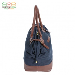 MaternityBag Hospital Bag Navy Side View