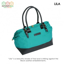 MaternityBag Hospital Bag Lila Teal