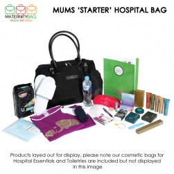 Mums Starter Hospital Bag display
