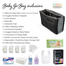 BAG FOR HOSPITAL AND BEYOND MATERNITYBAGS GO BAG