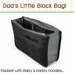Limited Edition Black Baby Bag
