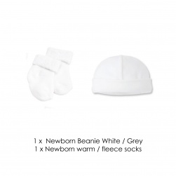 Newborn Beanie and Socks